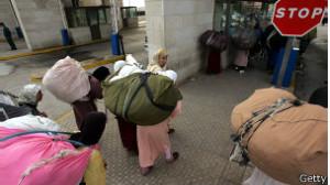 שרירים - נשים במעבר הגבול