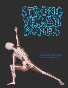 סידן וטבעונות: עצמות טבעוניות חזקות